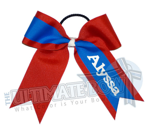 whats-my-name-cheer-bow-red-electric-blue-Alyssa-Softball