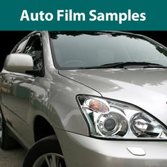 Auto Window Film Samples