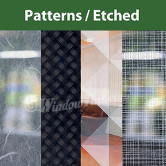 Patterned Window Tinting Films