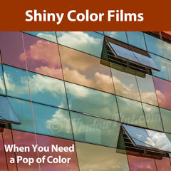 Shiny Color Window Tinting Films