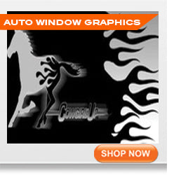 Auto window graphics