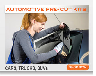 Automotive window tinting kits