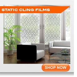 Static Cling window tinting films