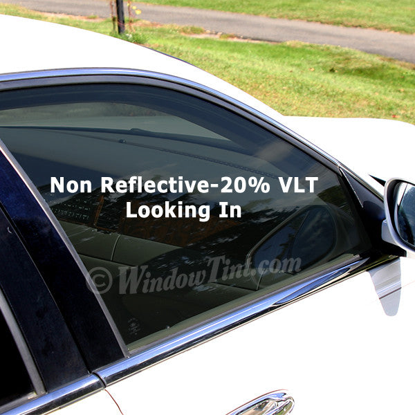 Professional non reflective 20 vlt car window tinting for 2 5 window tint