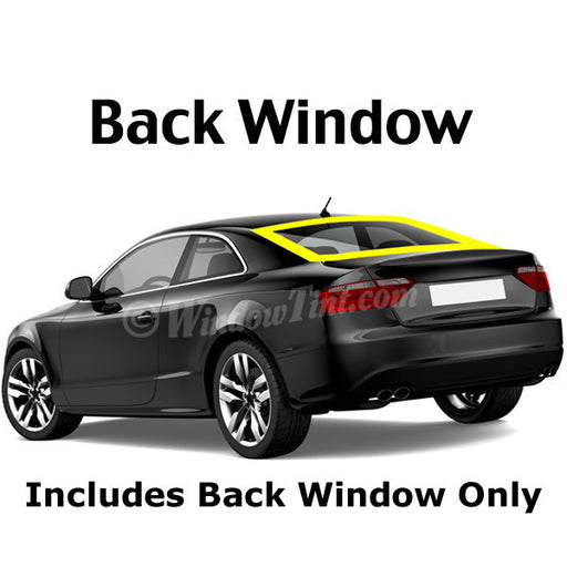 2 Door Car Back Window Tinting Kit