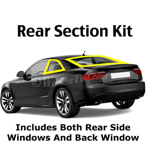 2 Door Car Rear Section Window Tinting Kit