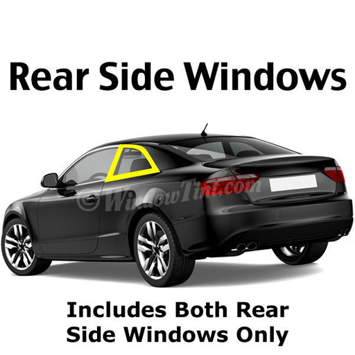 2 Door Car Rear Side Window Tinting Kit