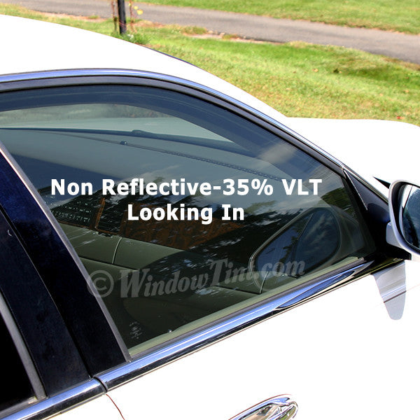 Professional Non Reflective 35 Vlt Car Window Tinting