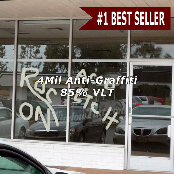 7 Mil Anti-Graffiti Window Tinting Film - windowtint.com