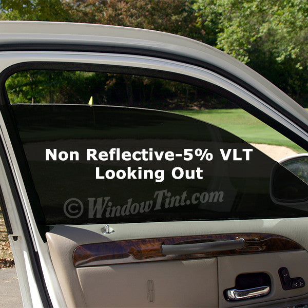 Professional Non Reflective 5 Vlt Car Window Tinting Film