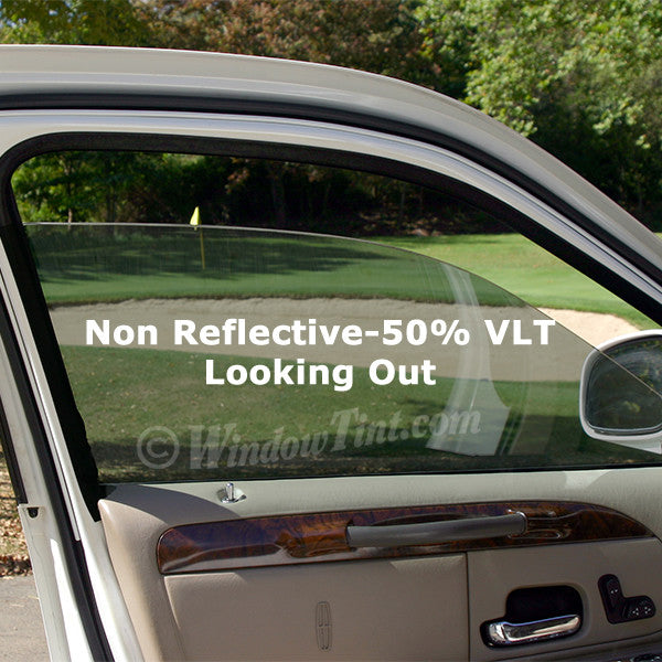 pro non reflective 50 vlt auto window tinting film