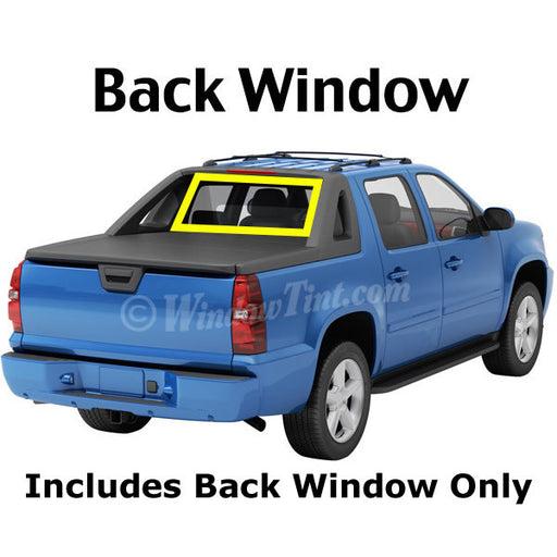 Crew Cab Truck back window tinting kit