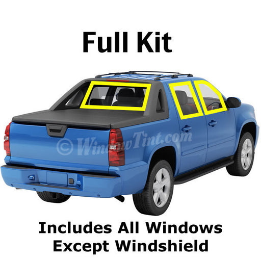 Crew Cab Truck window tinting kit