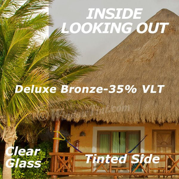 Deluxe Bronze Window Tinting Film