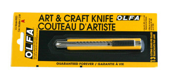 Olfa Yellow Handle Stainless Steel Knife