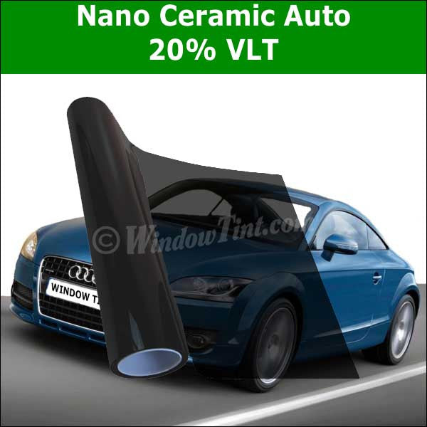 Pro Nano Ceramic 20 Vlt Auto Window Tinting Film