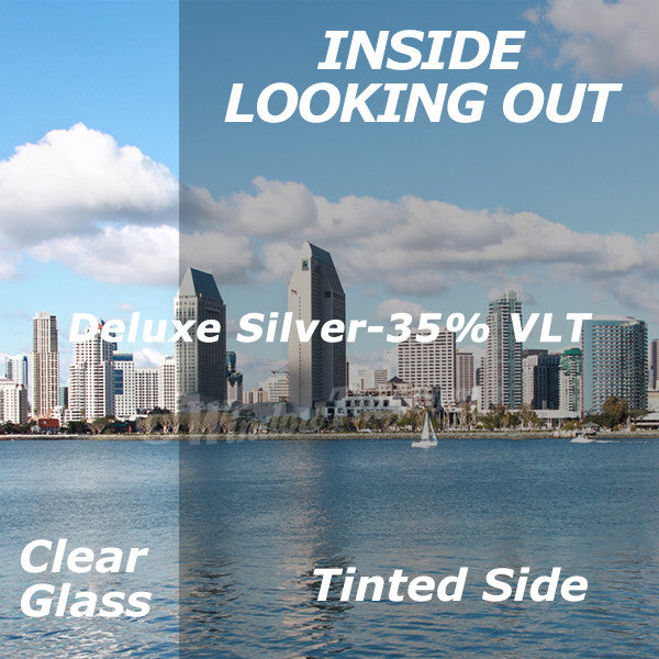 Deluxe Silver Window Tinting Film