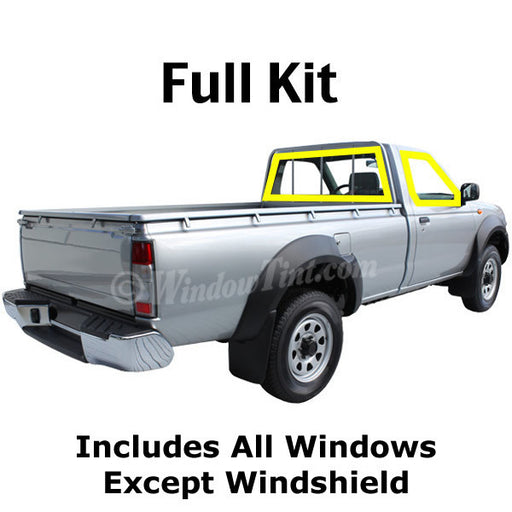 Standard Cab Turck window tinting kit