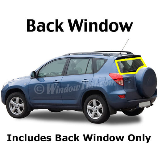 SUV Back window tinting kit