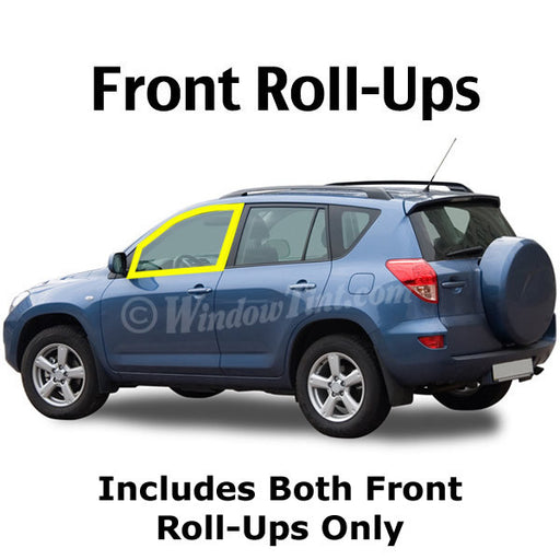 SUV Front roll ups window tinting kit