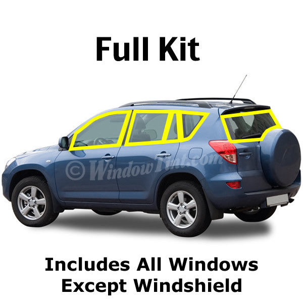 SUV window tinting kit