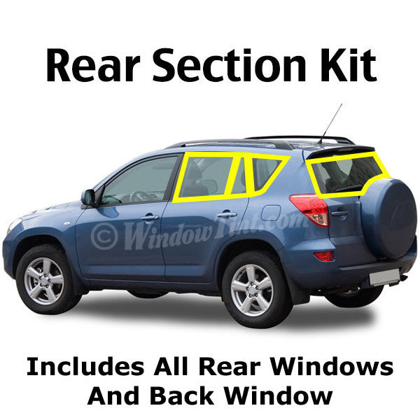 SUV Rear section window tinting kit