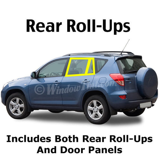 SUV Rear roll ups window tinting kit