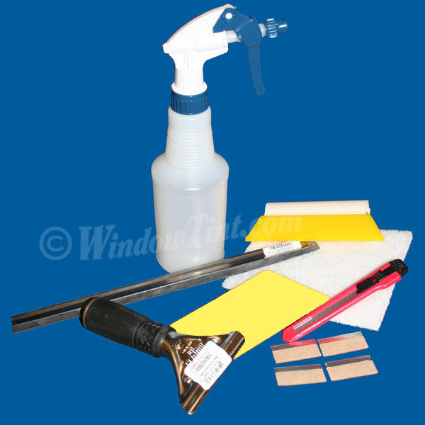 Flat Glass Window Tinting Tool Set
