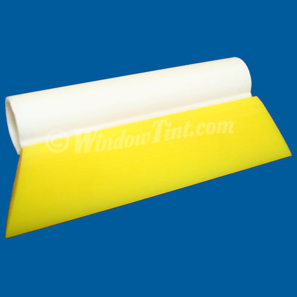 Yellow Wedge Squeegee, 6-Inch