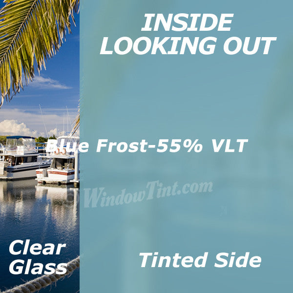 Blue Frost Window Tinting Film