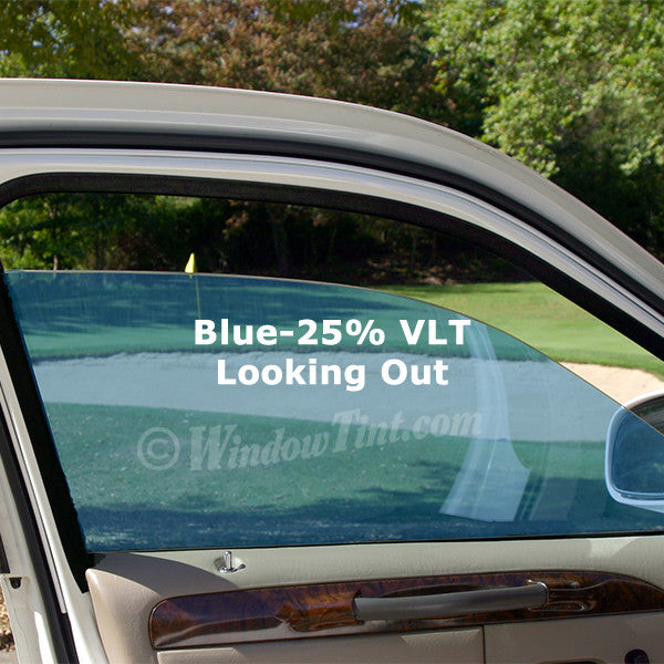 Blue Auto Window Tinting Film