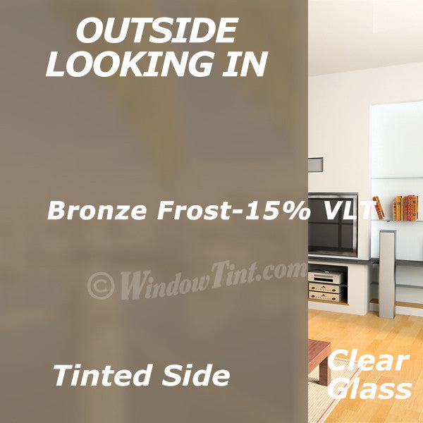 Bronze Frost Window Tinting Film