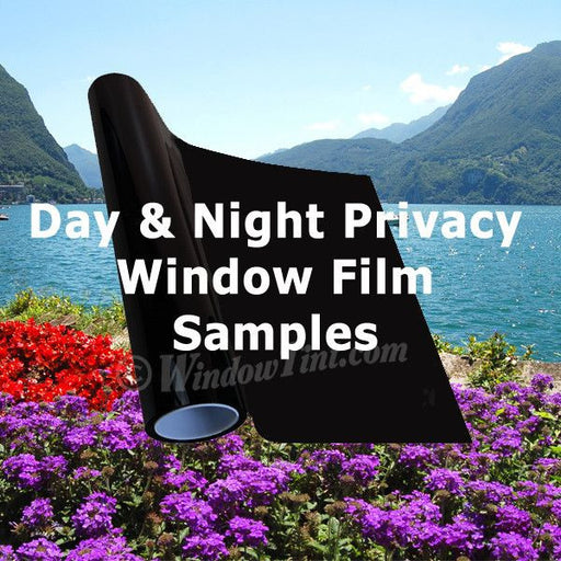 Day and Night Privacy window tinting films