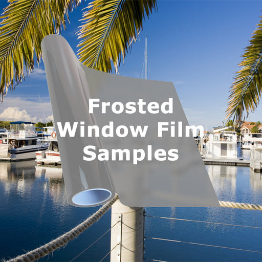 Frosted window tinting films