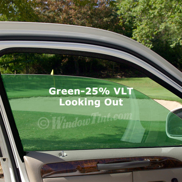 Green Auto Window Tinting Film