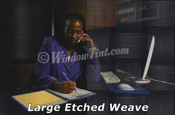 Large Etched Weaves