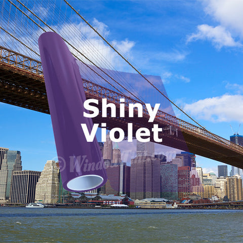 Shiny Violet Window Tinting Film