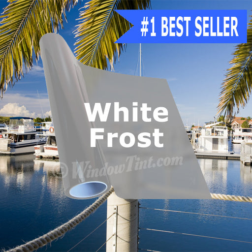 White Frost Window Tinting Film