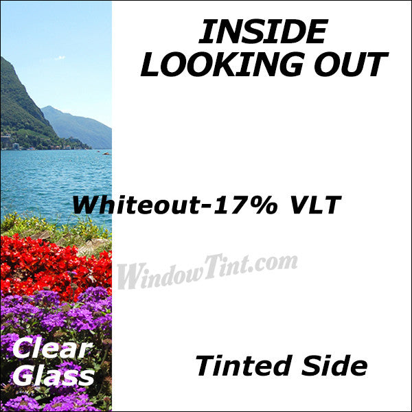 Whiteout Window Tinting Film