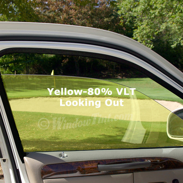 Yellow Auto Window Tinting Film