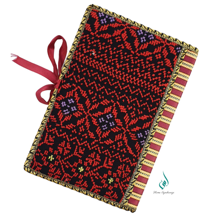 Pretty in Red Quran Cover with Tajweed Mus-haf