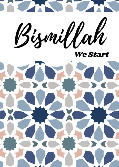 Bismillah We Start {Instant Download}