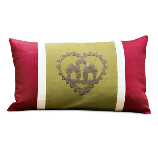 Heart of Camels Throw Pillow
