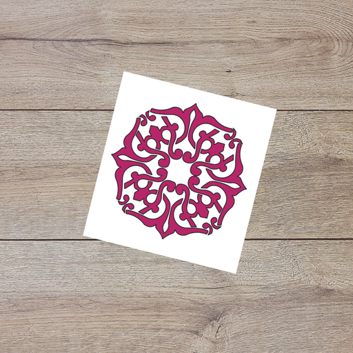 Arabesque decal
