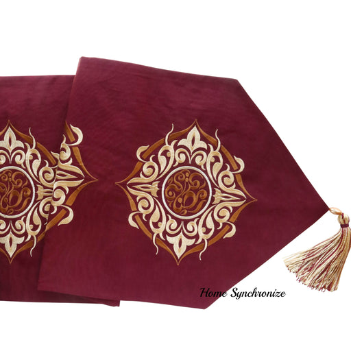 Ramadan 3 piece Table Runner and Pillow Set