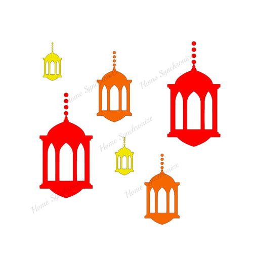Lantern Decals Bundle-6 Pack