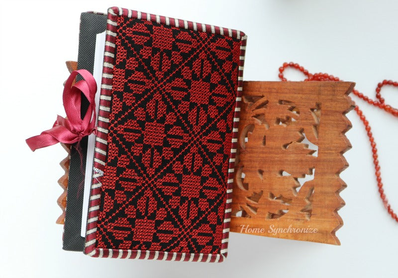 Dark Diamond Quran Cover with Mushaf