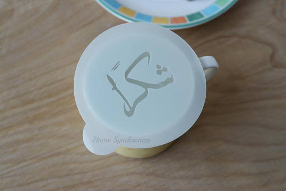 Coffee Mug Stencil-Shukran-Arabic Calligraphy-Thank You-Arabic Stencil by Home Synchronize