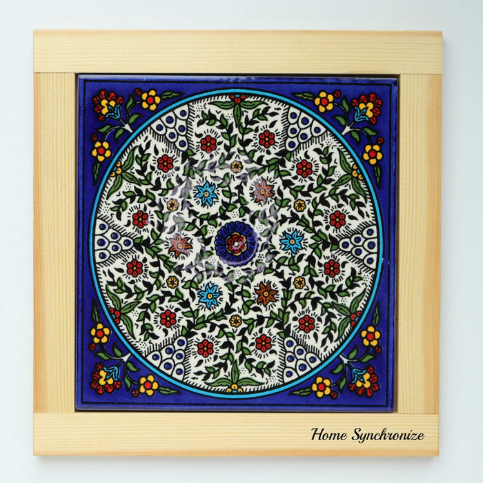 Armenian Ceramic  Small Tile Hot Pad