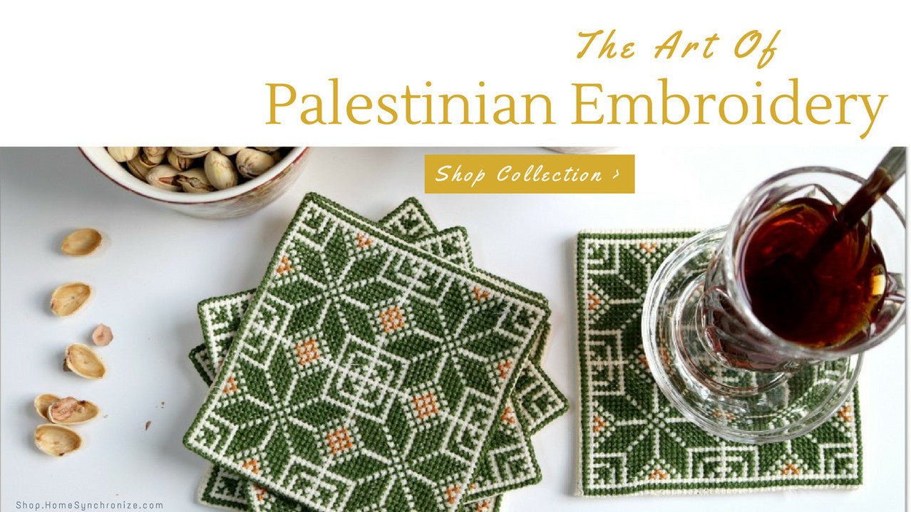 Palestinian embroidery decor